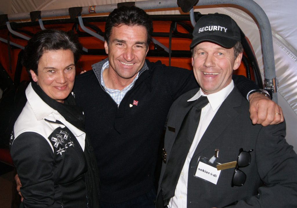 Profi Skiweltweister Rene Arnold