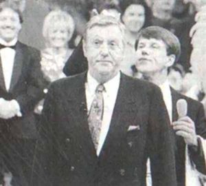 Hannes mit Karl Moik